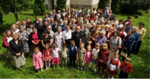 OurPartnerChurchcongregationwithFollen visitors,2008