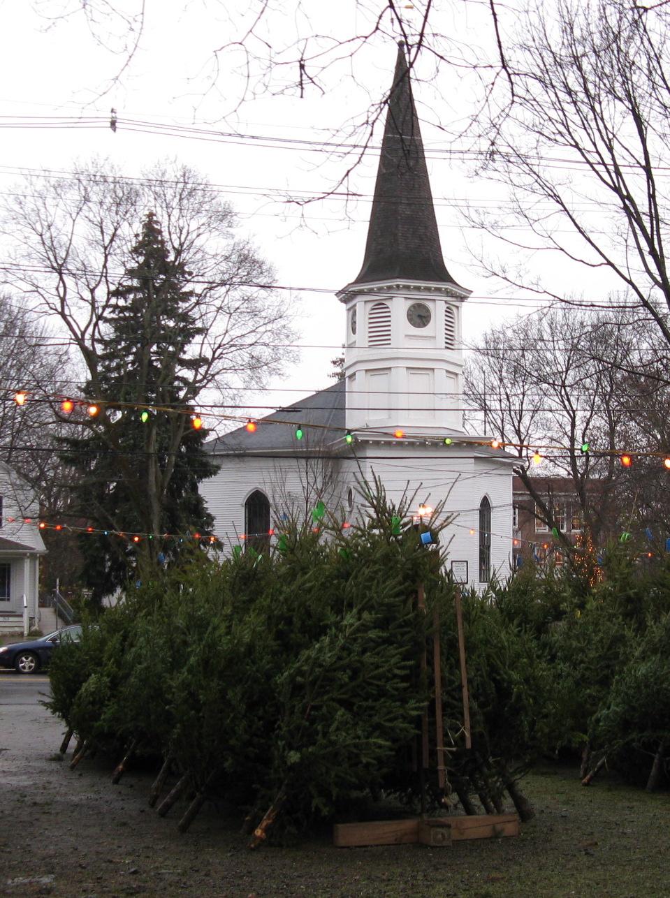 Christmas Trees Follen Community Church