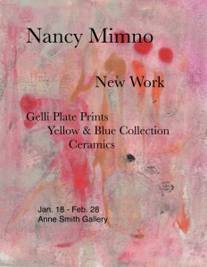 Nancy Mimno art show