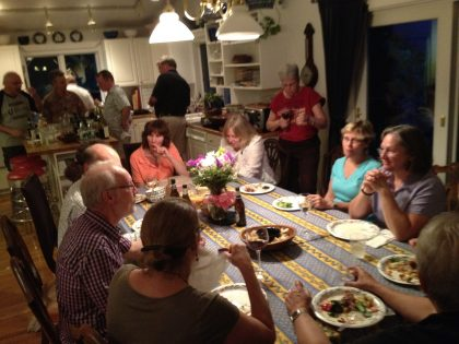 Annual BGAT members (and spouses) dinner